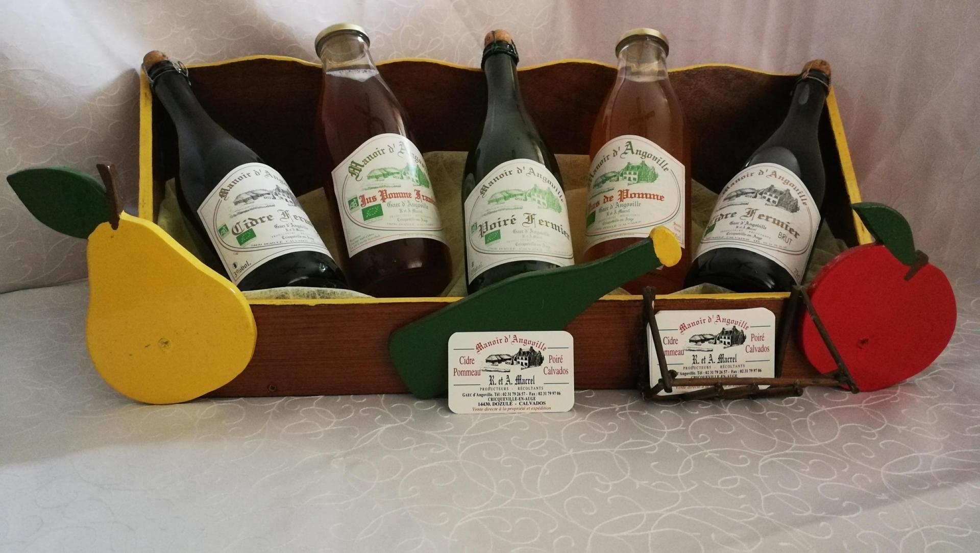Les produits cidricoles du Manoir d'Angoville